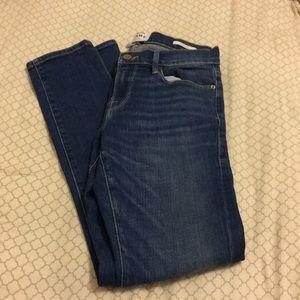 Frame Blue Jeans Skinny Leg Size 24